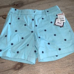 Pants - Shorts sz 2 Wheel Embroidered- Cambridge Dry Goods